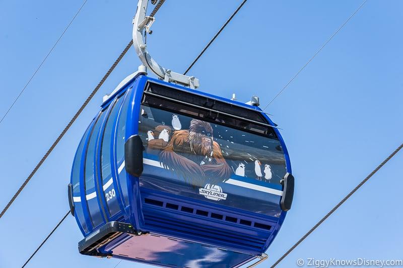 Disney Skyliner Gondolas Characters Star Wars 2