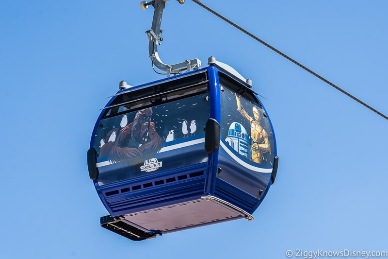 Disney Skyliner Gondolas Characters Star Wars 3