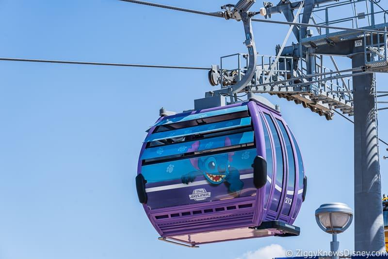 Disney Skyliner Gondolas Characters Stitch