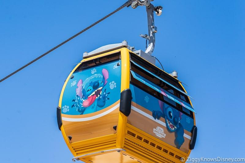Disney Skyliner Gondolas Characters Stitch 2