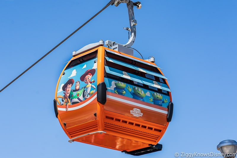 Disney Skyliner Gondolas in Walt Disney World