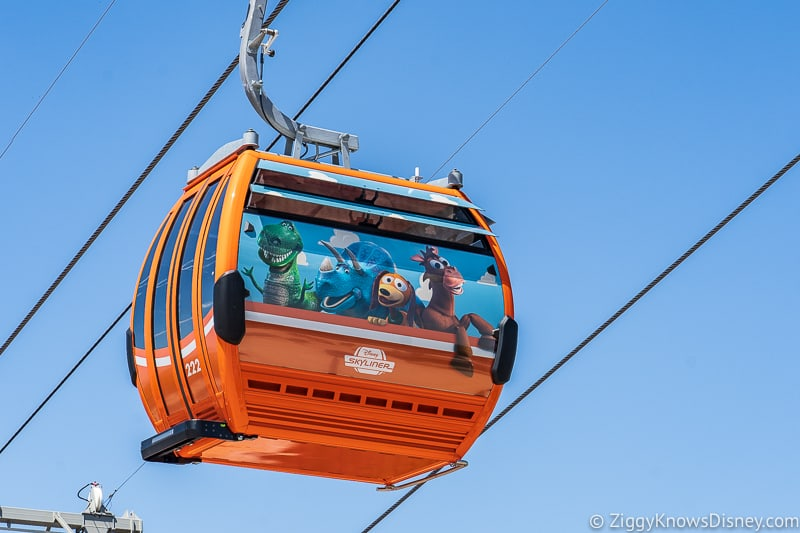 Disney Skyliner Gondolas Characters Toy Story 2