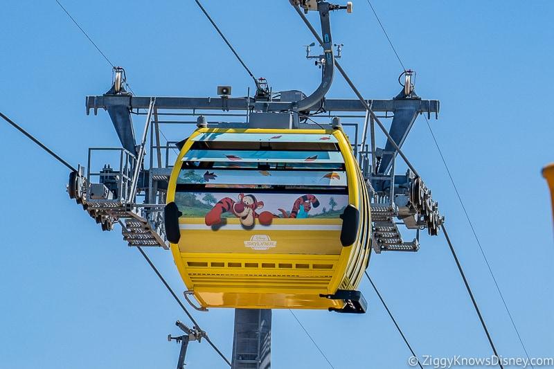 Disney Skyliner Gondolas Characters Winnie the Pooh