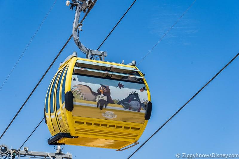 Disney Skyliner Gondolas Characters Winnie the Pooh 2