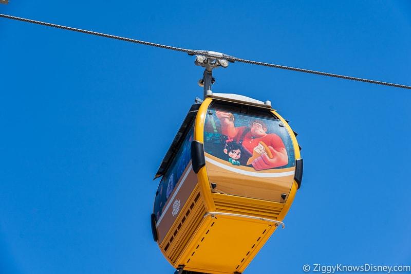 Disney Skyliner Gondolas Characters Wreck-It Ralph