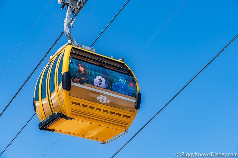 Disney Skyliner Gondolas Characters Wreck-It Ralph 2