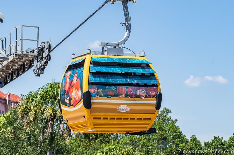 Disney Skyliner Gondolas Characters Wreck-It Ralph 3