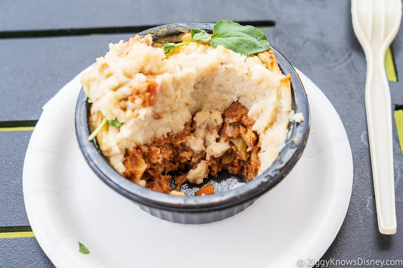 Impossible Cottage Pie Earth Eats 2019 Epcot Food and Wine Festival