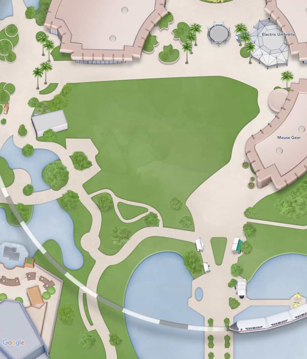 Epcot Digital Map Update Club Cool Removal 5
