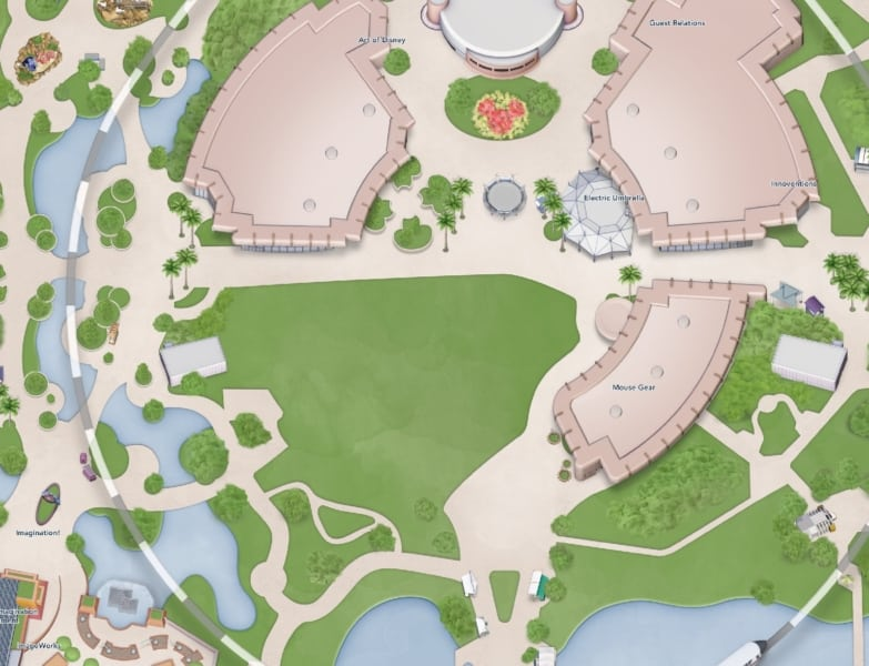 Epcot Digital Map Update Club Cool Removal 4