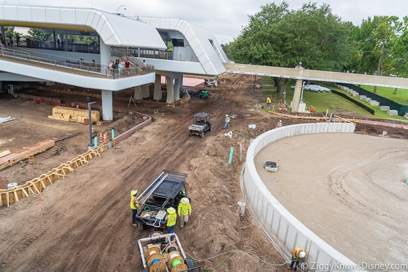 Epcot Entrance Construction Updates September 2019