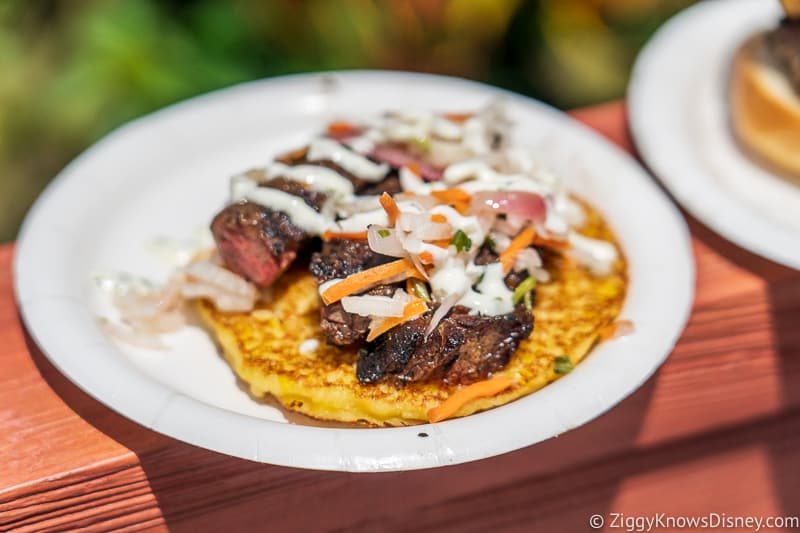 Chimichurri Skirt Steak Flavors from Fire 2019 Epcot Food and Wine Festival