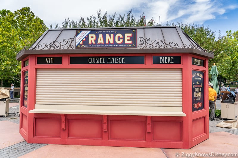 France 2019 Epcot Food and Wine Festival booth