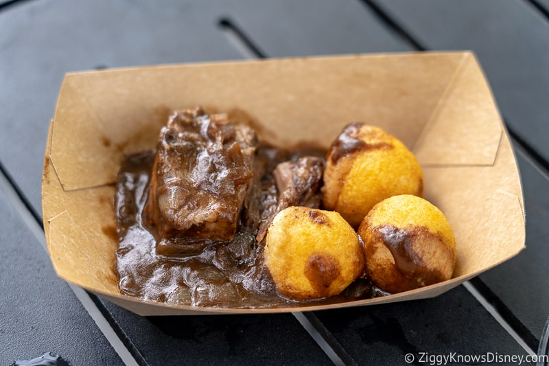 braised beef France 2019 Epcot Food and Wine Festival