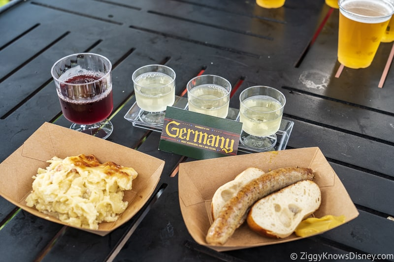 Germany 2019 Epcot Food and Wine Festival food