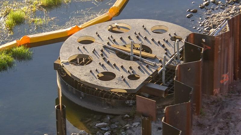 Mechanism for turning bridge Grand Floridian walkway magic kingdom November 2019
