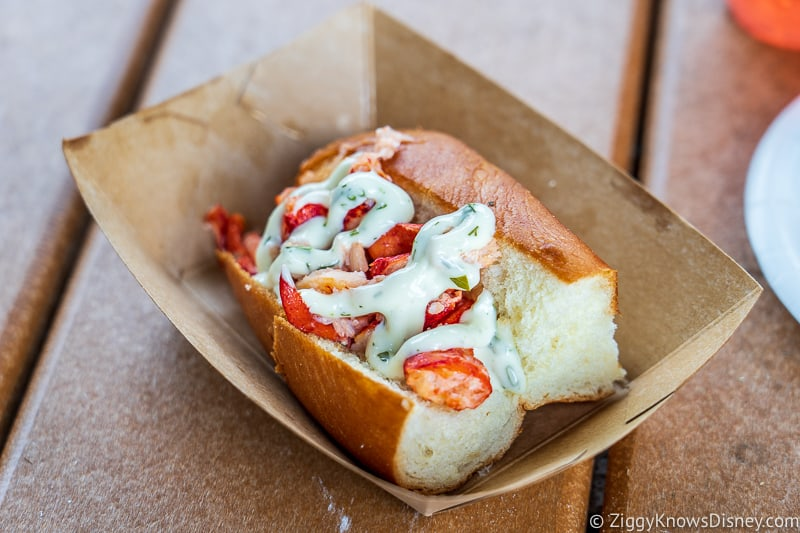 Lobster Roll Hops and Barley 2019 Epcot Food and Wine Festival