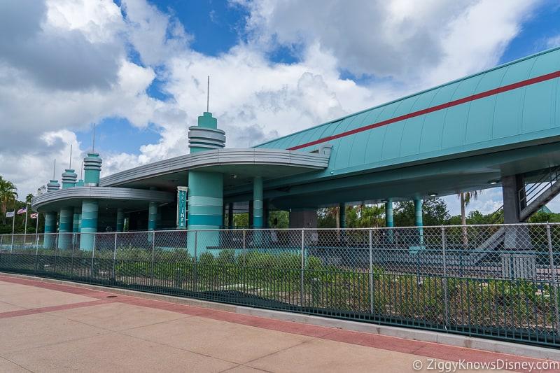 hurricane Dorian Preparations in Walt Disney World Hollywood Studios skyliner