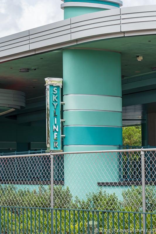 hurricane Dorian Preparations in Walt Disney World Hollywood Studios skyliner post