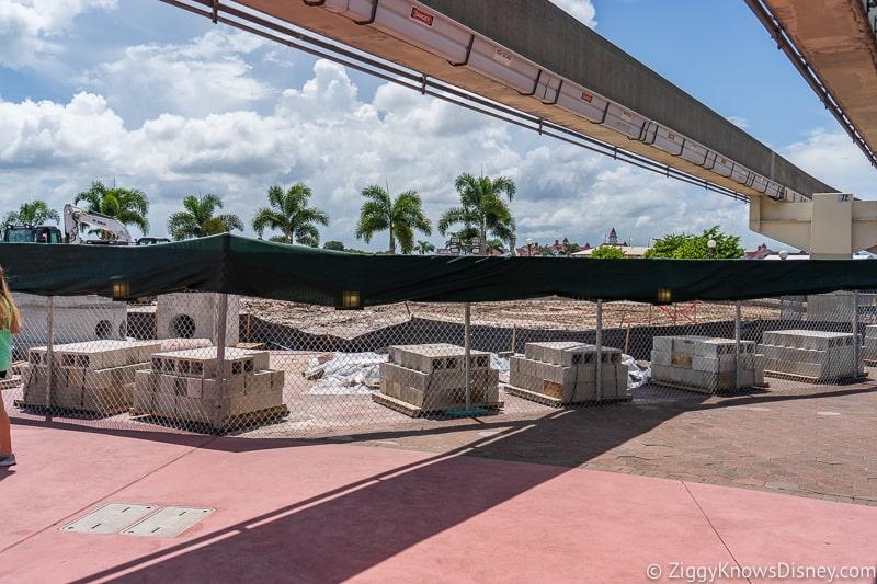 hurricane Dorian Preparations in Walt Disney World magic kingdom entrance 5