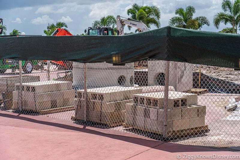 hurricane Dorian Preparations in Walt Disney World magic kingdom entrance 4