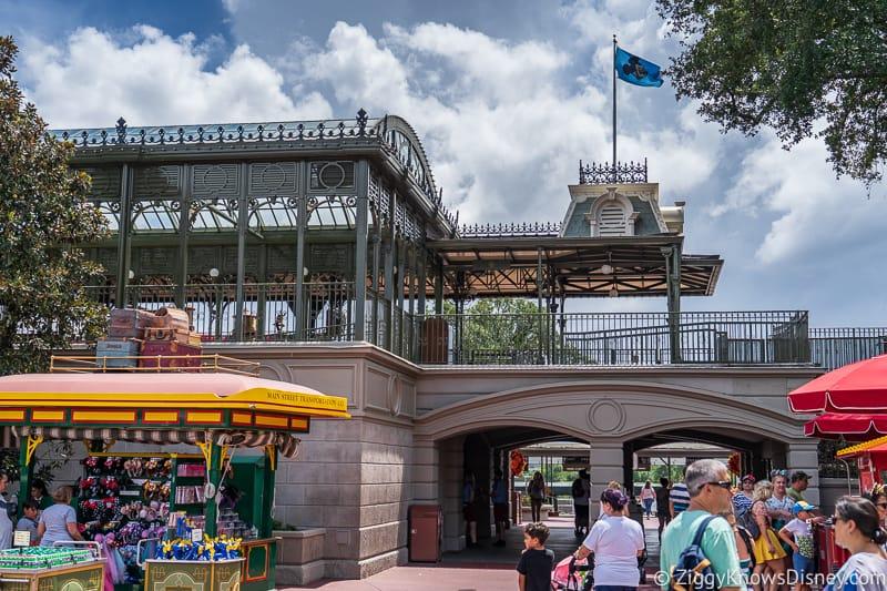 hurricane Dorian Preparations in Walt Disney World magic kingdom exit