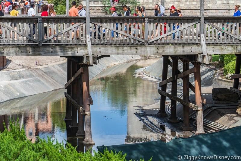 hurricane Dorian Preparations in Walt Disney World moat 2
