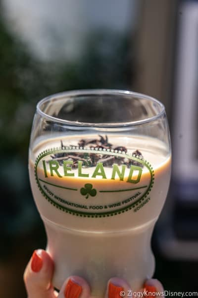 Guinness Bailey's Shake Ireland 2019 Epcot Food and Wine Festival