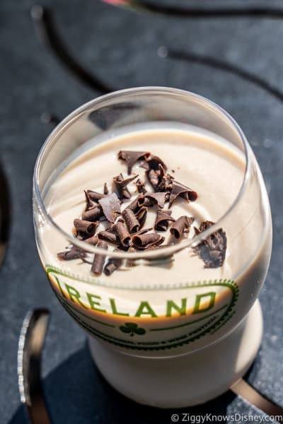 Guinness Bailey's Shake top Ireland 2019 Epcot Food and Wine Festival