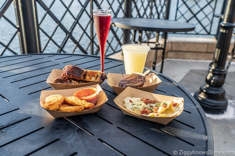 Italy 2019 Epcot Food and Wine Festival food