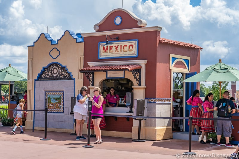 Mexico 2019 Epcot Food and Wine Festival booth