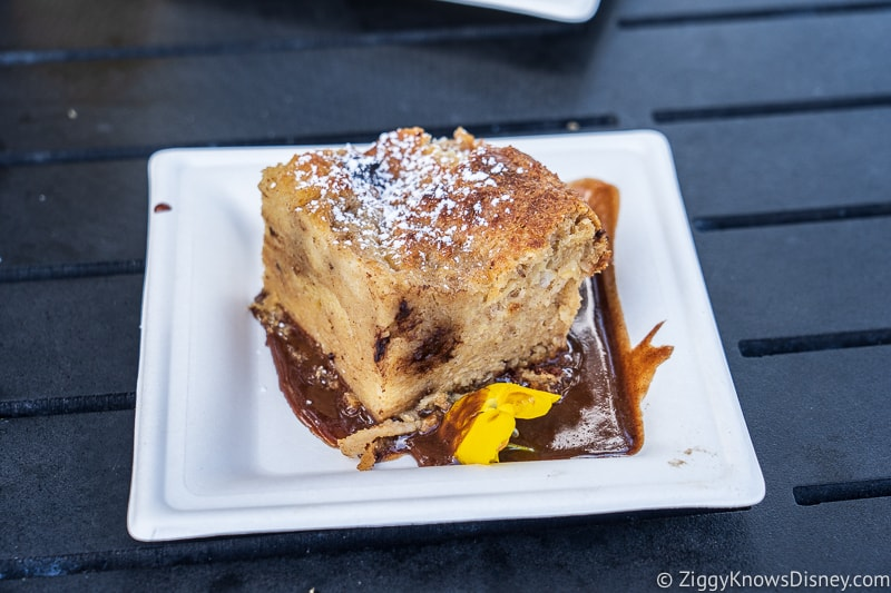 Chocolate Bread Pudding Mexico 2019 Epcot Food and Wine Festival