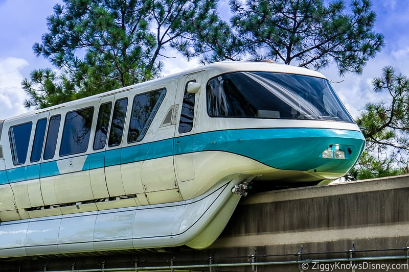 Disney World Monorail stuck