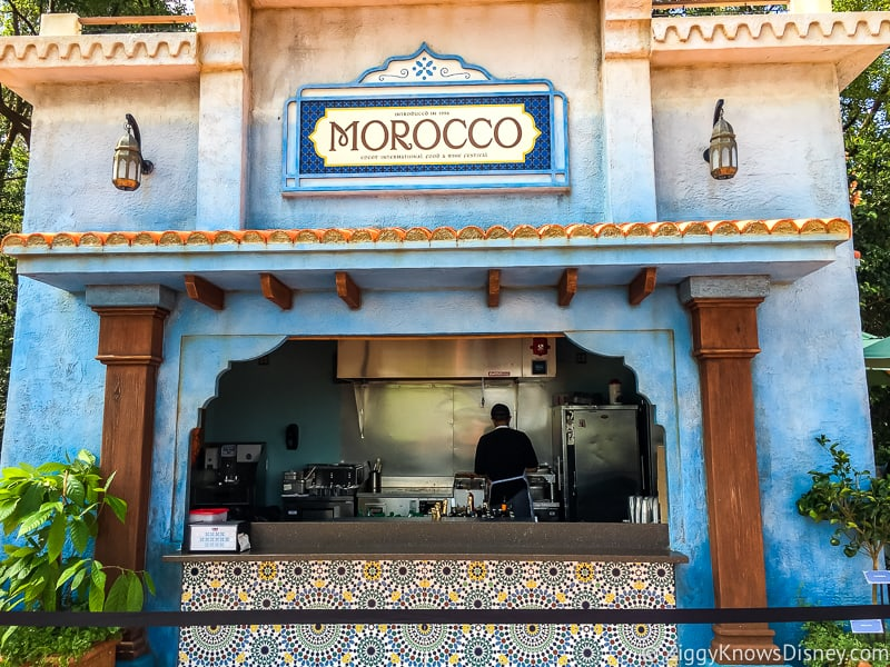 booth Morocco 2019 Epcot Food and Wine Festival