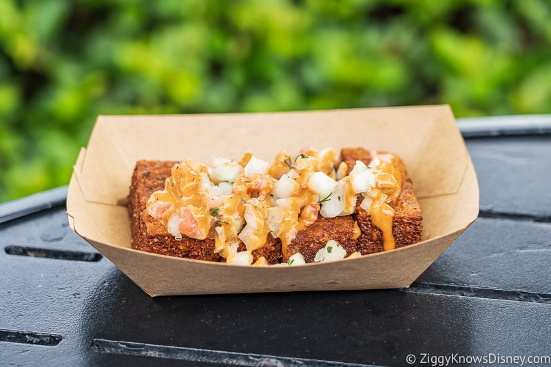 Spicy Hummus Fries Morocco 2019 Epcot Food and Wine Festival