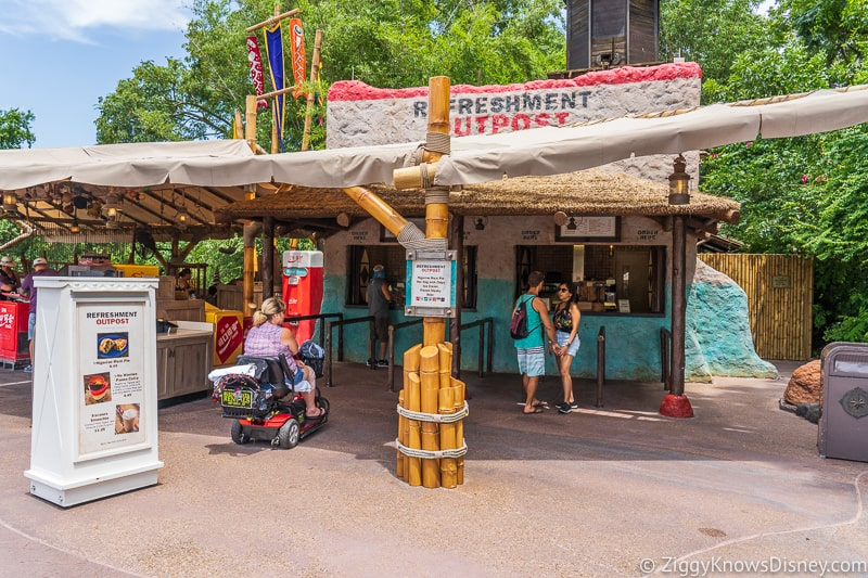 Refreshment Outpost 2019 Epcot Food and Wine Festival booth