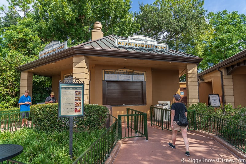 Refreshment Port 2019 Epcot Food and Wine Festival booth
