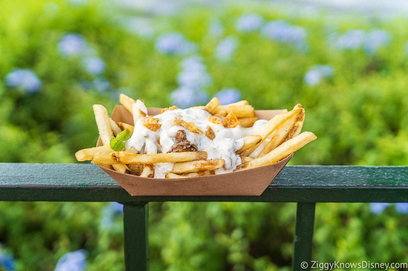 Duck Confit Poutine Refreshment Port 2019 Epcot Food and Wine Festival