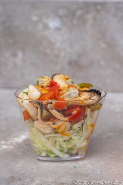 Seafood Salad Spain 2019 Epcot Food and Wine Festival