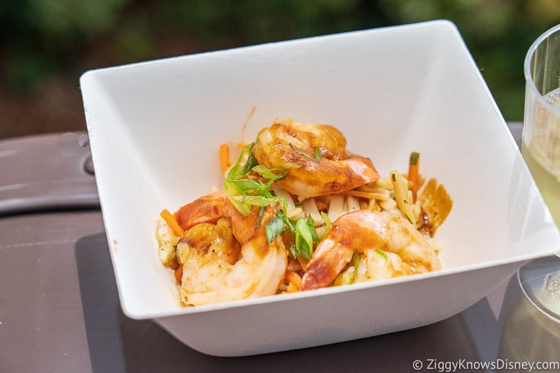 Shrimp and Cold Noodle Salad Thailand 2019 Epcot Food and Wine Festival