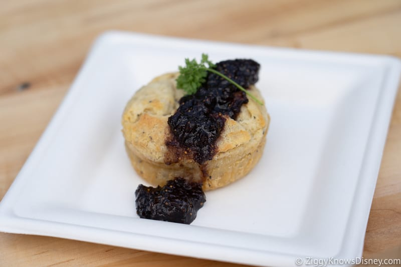Black Pepper Boursin Soufflé The Cheese Studio 2019 Epcot Food and Wine Festival
