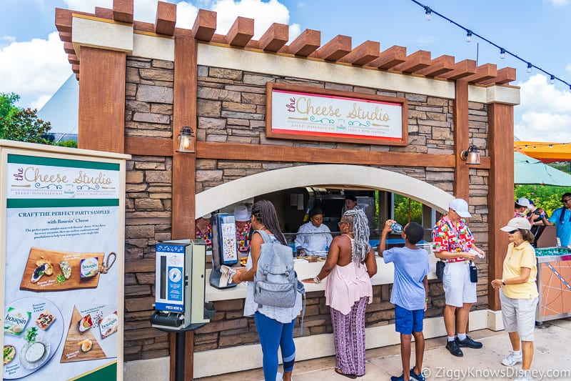 The Cheese Studio 2019 Epcot Food and Wine Festival booth