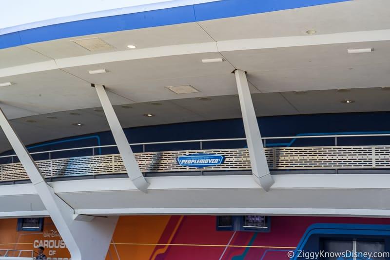 Tomorrowland Magic Kingdom theming change update September 2019