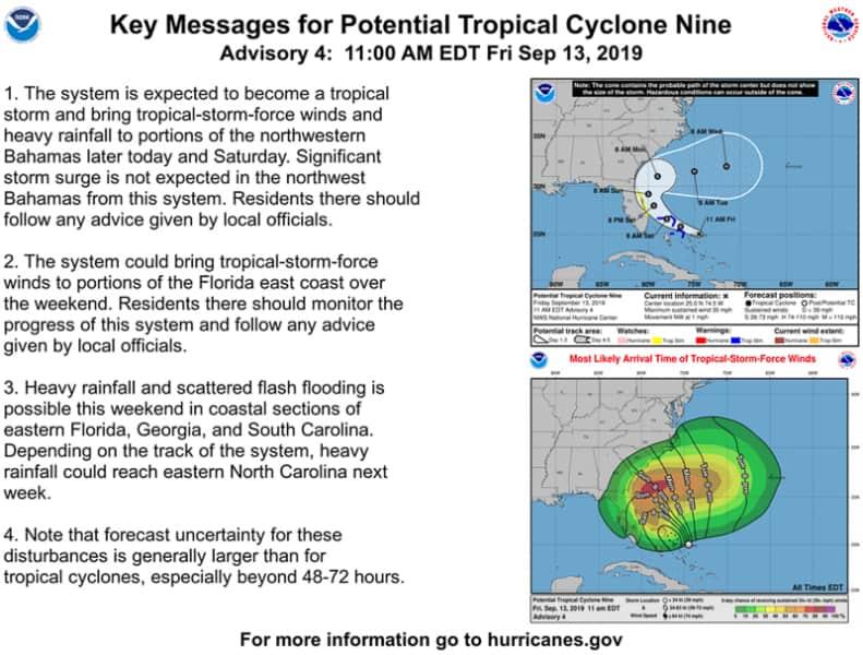 Tropical Storm Nine 1