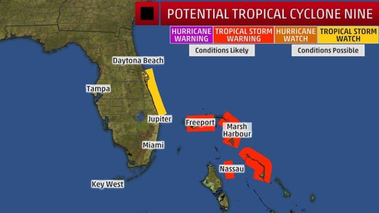 Tropical Storm Nine 3
