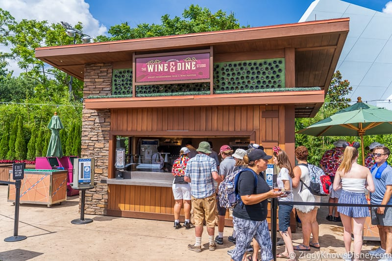 booth Wine and Dine Studio 2019 Epcot Food and Wine Festival