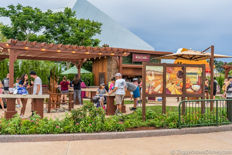 Wine and Dine Studio 2019 Epcot Food and Wine Festival marketplace