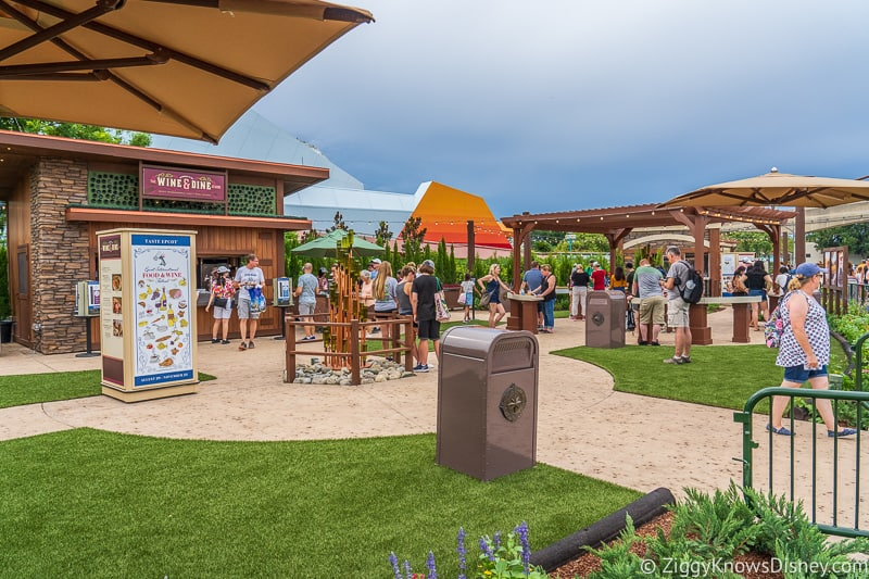 marketplace Wine and Dine Studio 2019 Epcot Food and Wine Festival