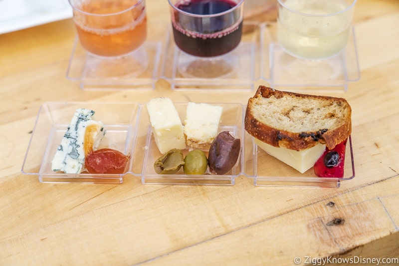 Cheese Board Wine and Dine Studio 2019 Epcot Food and Wine Festival