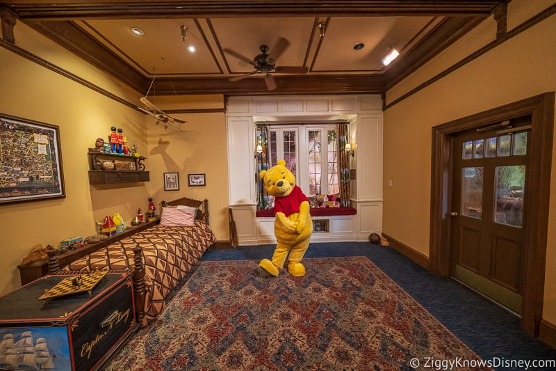Winnie the Pooh Character Greet in Epcot